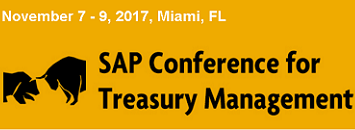 SAP Conference for Treasury Management