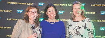 Zanders wins the SAP Service Partner Award of the Year